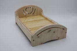 Holzbettchen inkl. Kuschelauflage