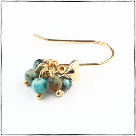 BELLA - AFRICAN TURQUOISE EARRING