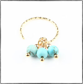 LUNA - TURQUOISE STONE EARRING