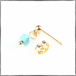 KATIE - TURQUOISE STONE EARRING