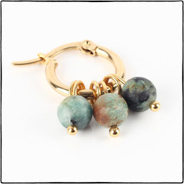 ELLA - AFRICAN TURQUOISE EARRING