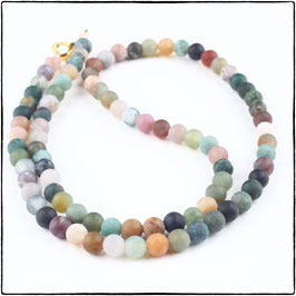 INDIAN AGATE CHOKER NECKLACE