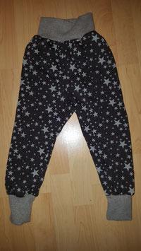 Hose Grau Sterne Hellgrau