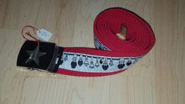 Erwachsenengurt Glockenstolz , Rot 110cm