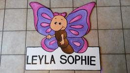 Geburtsfigur Schmetterling