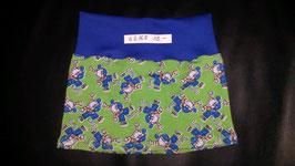 Jupe Grün, Affe Blau