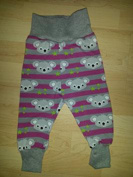 Hose Pink, Grau, Koalabär