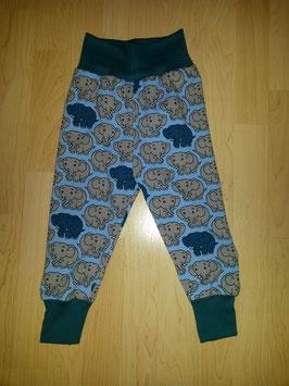 Hose Elefanten Blau