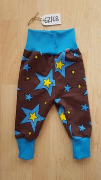 Hose Braun, Sterne Blau, Gelb