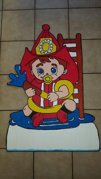 Geburtsfigur Feuerwehrbaby