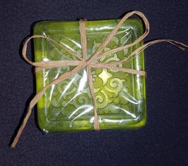 Seife Muster, Grün