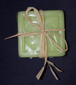Seife Handmade with love, Grün