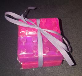 Seife Baustein, 4 Stück Pink, Violettes