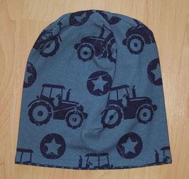 Beanie Blau Traktor, Traktorspuren