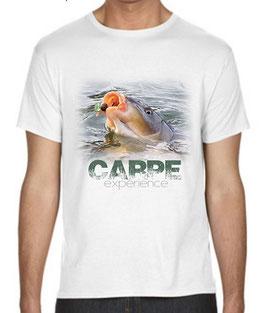 t-shirt pêche carpe experience