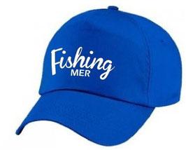 Casquette fishing pêche en mer