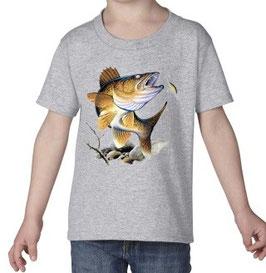 T-shirt garçon pêcheur de perche à la cuillère