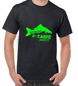 T-shirt pêcheur carpe
