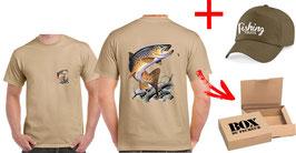 Boite cadeau pêche fario au toc grand format RV