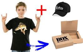 BOITE cadeau jeune pêcheur de sandre