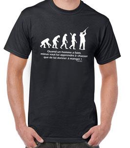 Tee-shirt encore chasseur
