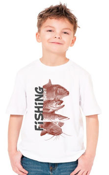 Tee-shirt garçon pêcheur fishing spirit