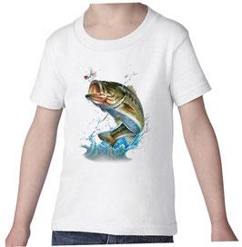 T-shirt garçon pêcheur de carnassier