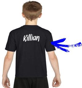 personnalisation du tee-shirt du pêcheur