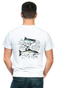 T-shirt chasse du saumon