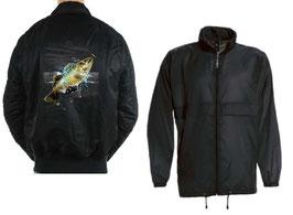 Coupe-vent pêcheur black bass géant