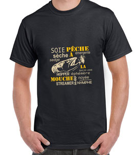 T-shirt passion mouche