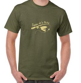 T-shirt du passionné de pêche