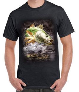 T-shirt pêche du blackbass