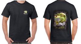 Tee-shirt homme pêche au gros brochet