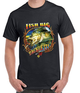 Tee-shirt pêcheur Big fish