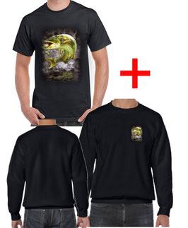 T-shirt et sweat truite