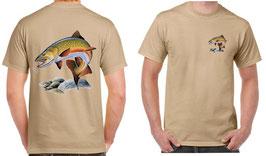 T-shirt la truite de réservoir