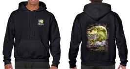 Sweat capuche pêcheur de broc