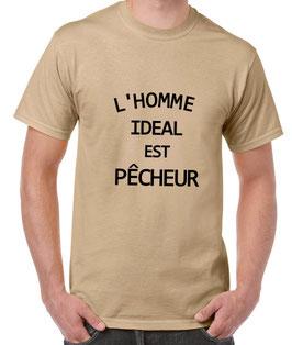 T-shirt pour homme idéal