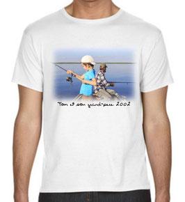 t-shirt personnalisé avec photo