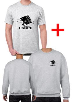 T-shirt et sweat carpe