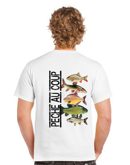 T-shirt pêcheur au coup