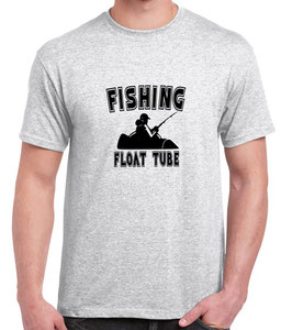 T-shirt pêche float tube