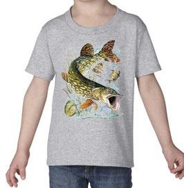 Tee-shirt petit pêcheur au brochet