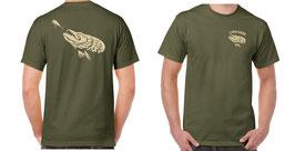 T-shirt pêche carnassier