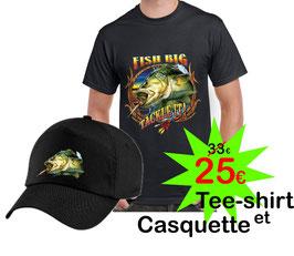 Tee-shirt et casquette gros carnassier