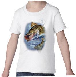 T-shirt garçon pêcheur de pecher