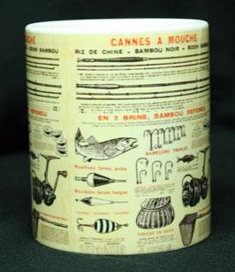 Mug pêcheur a la mouche