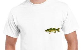 tee-shirt pêche au bass