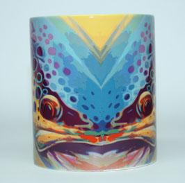 Mug avec belle truite